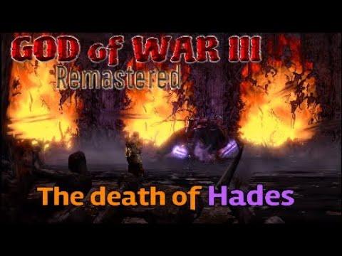 GOD of WAR III Remastered #4 Hades Demise