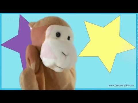 Numbers 1,2,3,4,Monkey Dance Kids Song