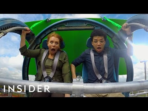 Why 'Jurassic World: Fallen Kingdom' Built A Roller Coaster For One Of Its Stunts