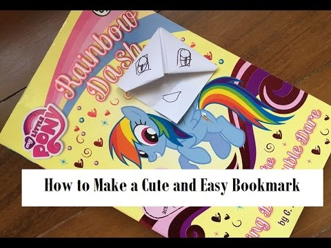 Kids Craft: How to Make an easy and cute bookmark