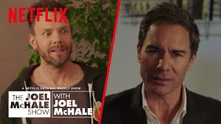 Eric McCormack - How To Sound Smart at Parties   Joel McHale Show   Netflix