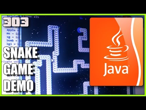 JAVA Game Development - Snake Demo