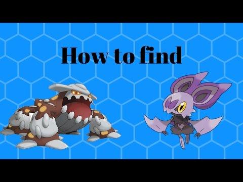 How to find Noibat and Heatran | Pokemon Brick Bronze