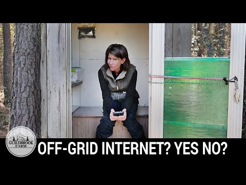 Do You Need Internet Off-Grid? Why We Think It Is A MUST...