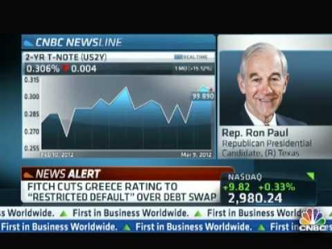 Ron Paul on CNBC 03/09/2012
