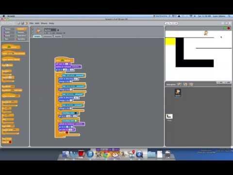 Scratch Tutorial #2- make a maze game