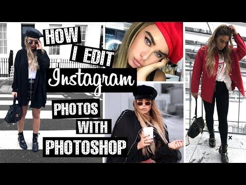 How I edit my Instagram photos with Photoshop