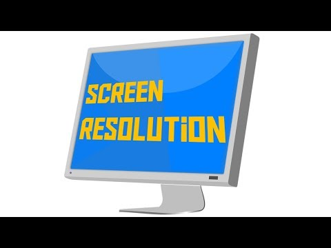 What is screen resolution, and how does it affect the overall image quality?