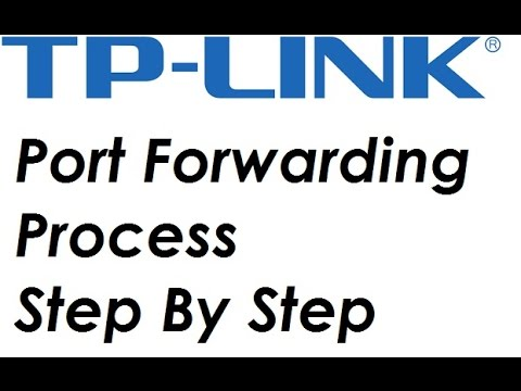 How to Port forward With a TP-Link Router (For Any Network Device)