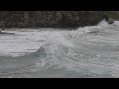 Portreath lifeguards rescue teenager boy