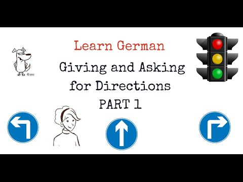 learn German: Directions in German - PART 1