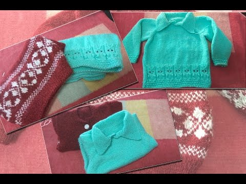 62fcd1463 Baby Raglan Sweater with Collar 1-2 year ( बच्चे का फुल ...