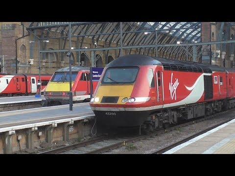 Trains at London King's Cross | 06/04/2017