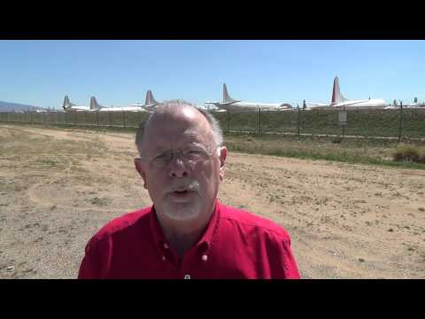 Dave Kipling visits the Davis-Monthan Boneyard