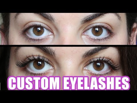 Custom Eyelash Extensions Vs. Cheap Eyelashes