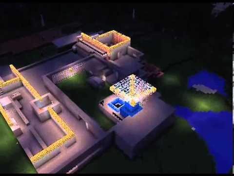 *Timelapse* Minecraft 'Der Riese' World At War Zombies Map Remake
