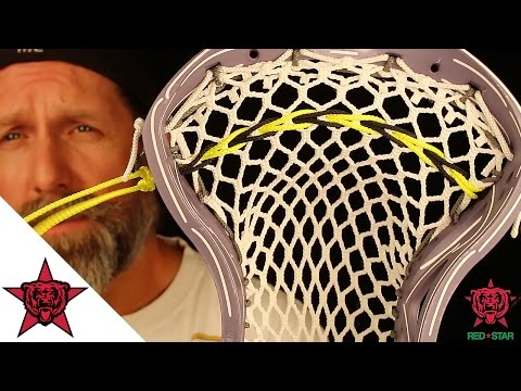 Lacrosse How To: String a Braided Nylon Shooting String
