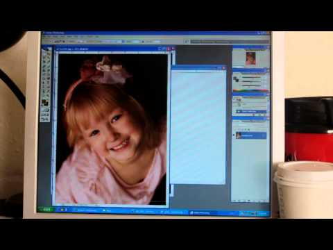 How to use Photoshop to put two 3x4 photos on one 4x6 file