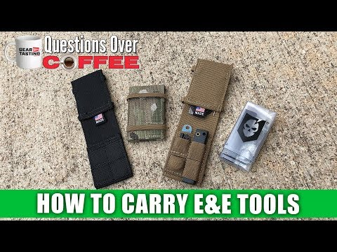 How to Carry Escape & Evasion Tools - Questions Over Coffee 04
