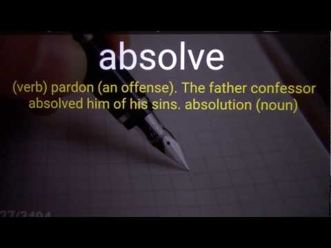 Barron's 3500 SAT Vocabulary Word List 1 + Sample Sentences