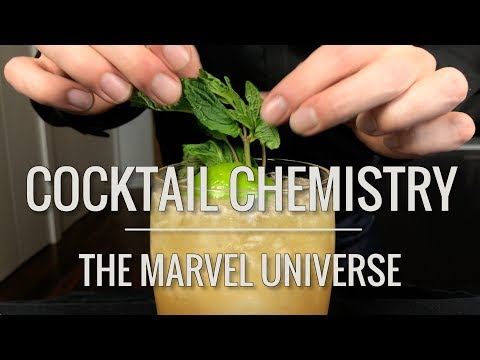 Recreated - Cocktails from the Marvel Universe