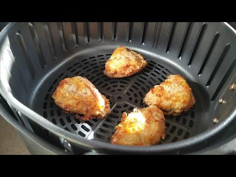 Air Fryer Fried Chicken Breast From FROZEN Kentucky Kernal Cooks Essentials Airfryer Red Robin Fries