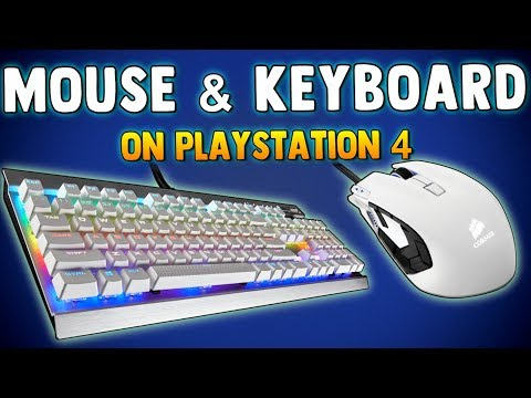 HOW TO USE MOUSE & KEYBOARD ON PS4 + How To Change Key Bindings in Fortnite Battle Royale