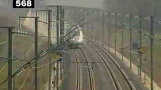 TGV speed record 574,8 km/h