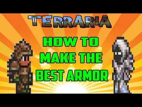 Terraria : PS4 Gameplay Episode 17 - How To Make The Best Armor (Turtle Armor And Spectre Armor)