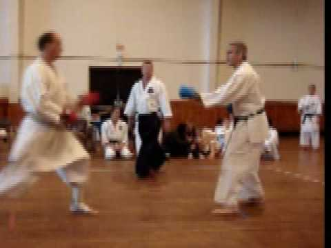 Sensei Curtis Kumite in Goose Creek 2008