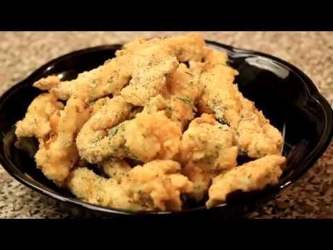 Crispy Buttermilk Ranch Chicken Strips