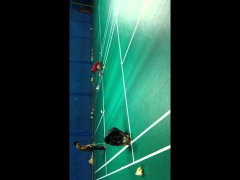 Installation Badminton Court