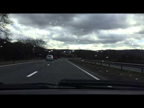 Time Lapse from the road between Nottingham and Cardiff. Feb 2015.