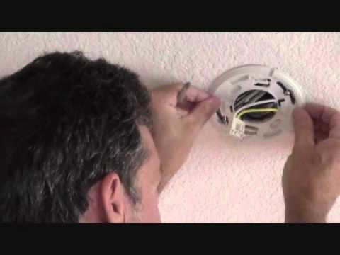 How to remove a hardwired smoke alarm