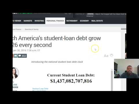 October 2017 Student Loan Crash- Student Loan Forgiveness Crash October 2017
