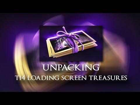 Dota 2 - Unpacking TI4 Loading Screen Treasures!