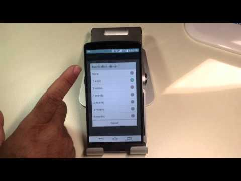 LG G3 Tips:  How to clean junk files from your phone automatically