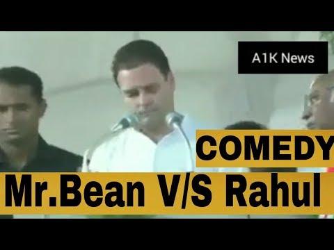 Mr.Bean V/S Rahul Gandi Comedy in Karnataka with Congress Team || 2018 Karnataka election
