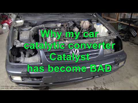 Why my car catalytic converter Catalyst has become BAD ?