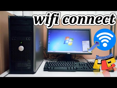 Connect WiFi How To ALFA NETWORKS Connect WiFi To PC Tower computer