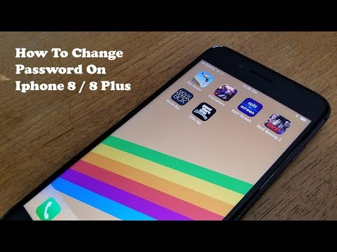 How To Change Password On Iphone 8 / Iphone 8 Plus - Fliptroniks.com