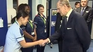 Prince Philip jokes about Filipino nurses in NHS
