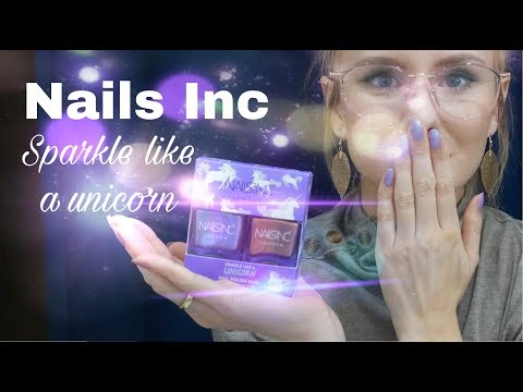 Review | Nails Inc Sparkle like a Unicorn Nailpolish Duo