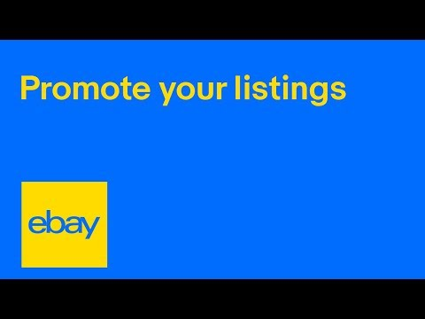 eBay for Business | How to set up an ad campaign | Promote your listings