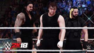 WWE 2K18 reimagines The Shield