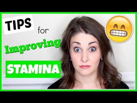Tips for Building Performance Stamina | Kathryn Morgan