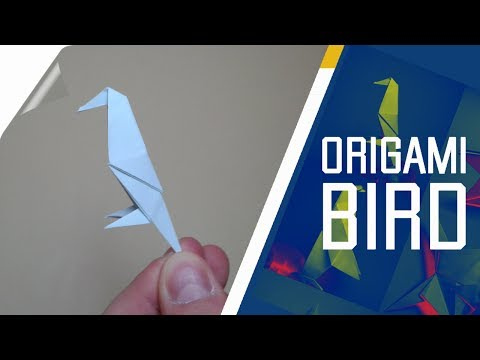Origami - How To Make An Easy Origami Bird
