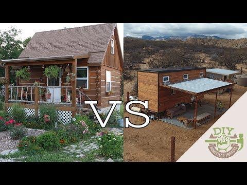 Tiny House On Foundation  vs Tiny House On Wheels