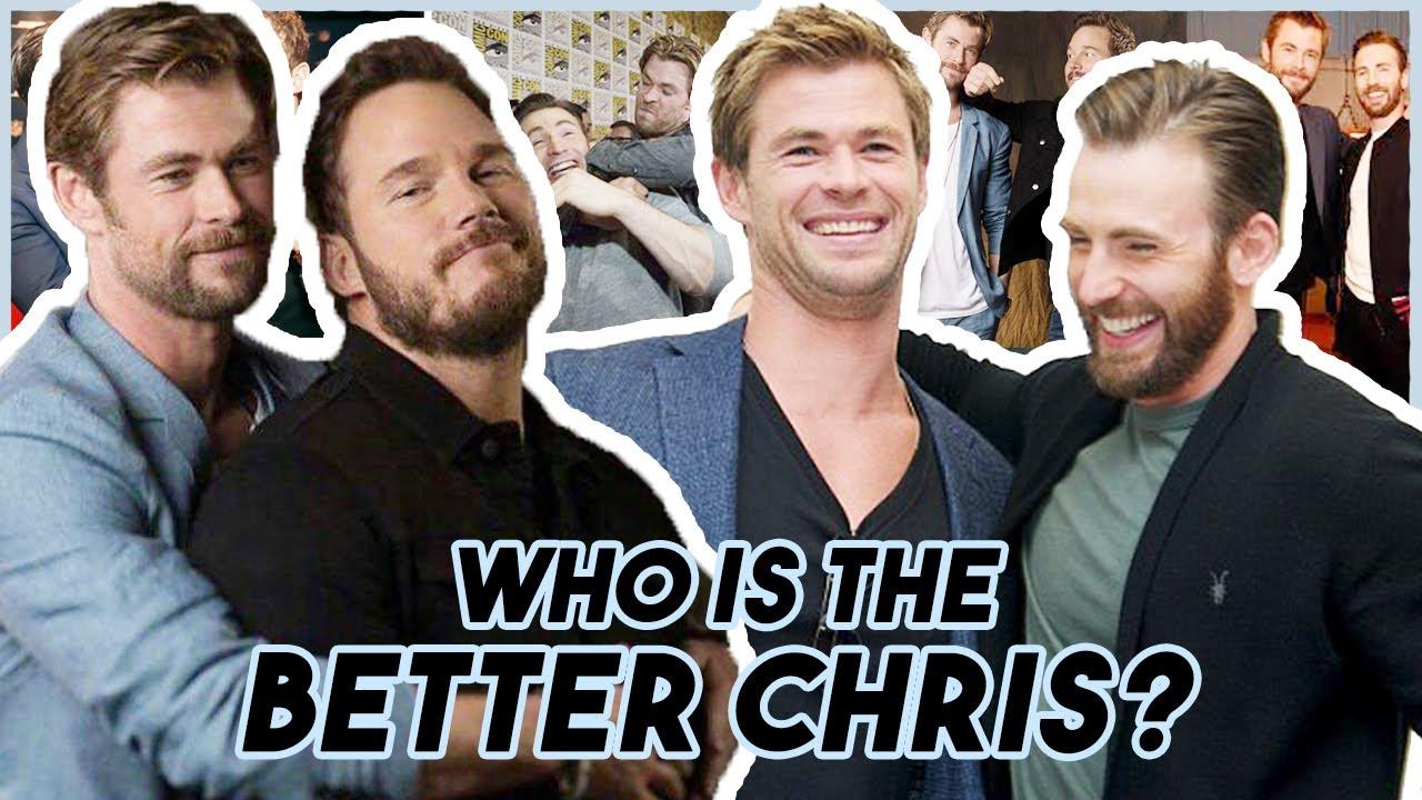 Chris Evans, Hemsworth & Pratt Reveal WHO IS THE BETTER CHRIS | Funny Moments Avengers: Endgame