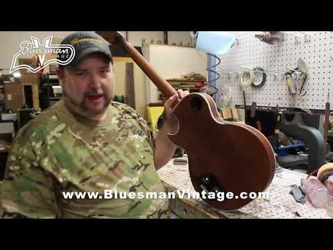 Dumpster Gibson Les Paul: The Franken Paul at Bluesman Vintage Guitars - Part 1 of 2